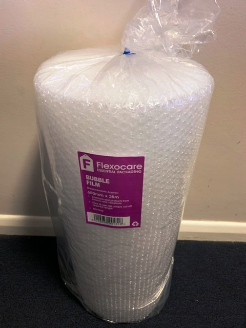 Flexocare 600mm Wide Roll of Bubble Wrap